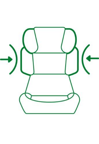 CYBEX SILVER Solution X-fix Autositz Gruppe 2/3 (15-36 kg), Pure Black -